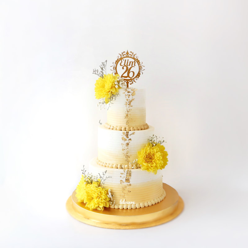 TIERED CAKE - Welcome!